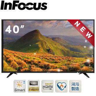 InFocus 40吋 液晶連網顯示器 XT-40CP820 鴻海製造