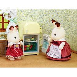 【Fun心玩】EP26380 麗嬰 日本 EPOCH 森林家族 可可兔媽媽家具組 扮家家酒 人偶 玩具 聖誕 生日 禮物