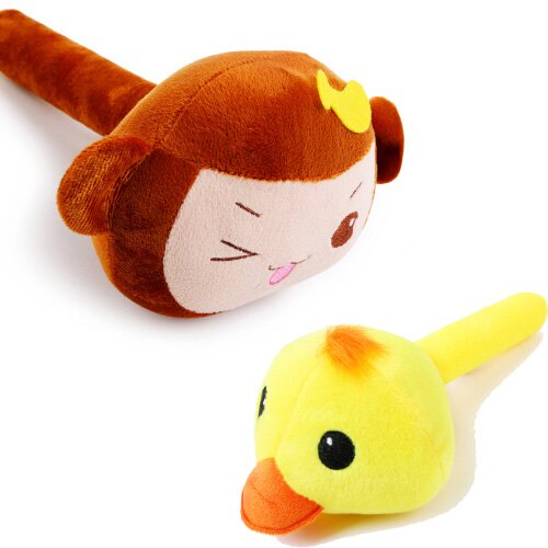 【小樂寵】猴子/小鴨造型錘子發聲玩具