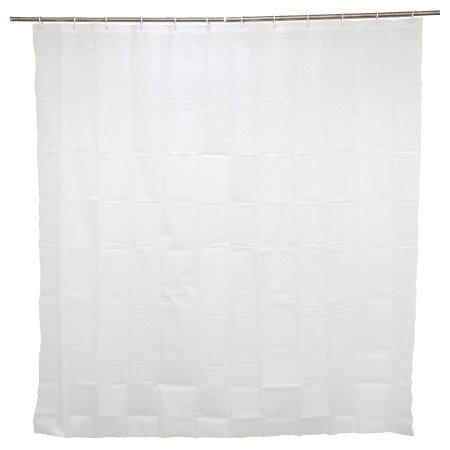 浴簾 半透明素色無花紋 180x180cm NITORI宜得利家居