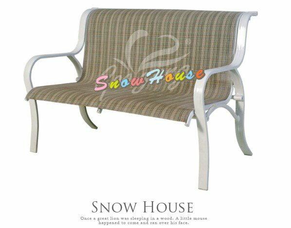 ╭☆雪之屋居家生活館☆╯P687-12A30A01鋁合金雙人紗網椅休閒椅戶外椅涼椅