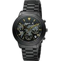 agnès b.包包推薦到agnes b. 經典世界地圖時尚腕錶 BT3020X1 VD53-KQ00F 黑x金就在寶時鐘錶推薦agnès b.包包