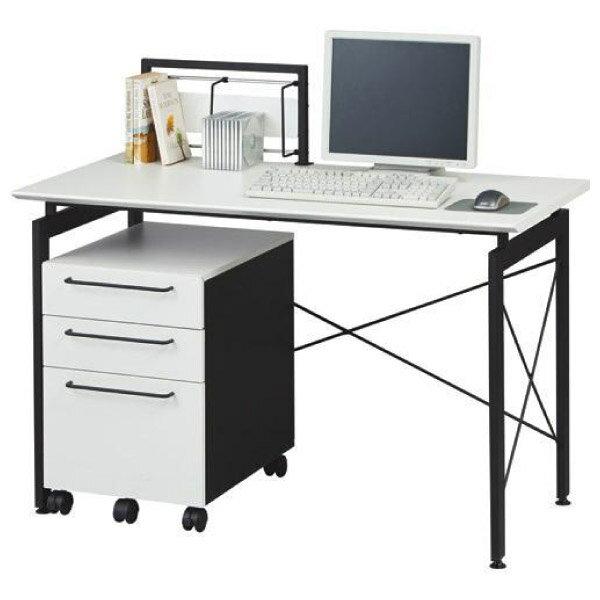 ◆電腦桌 附檔案櫃 SAYA WH NITORI宜得利家居 2