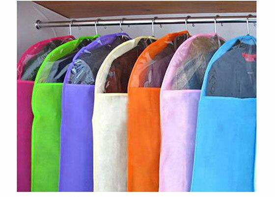 外套西裝大型防塵罩收納掛袋(一組6入顏色隨機出貨)