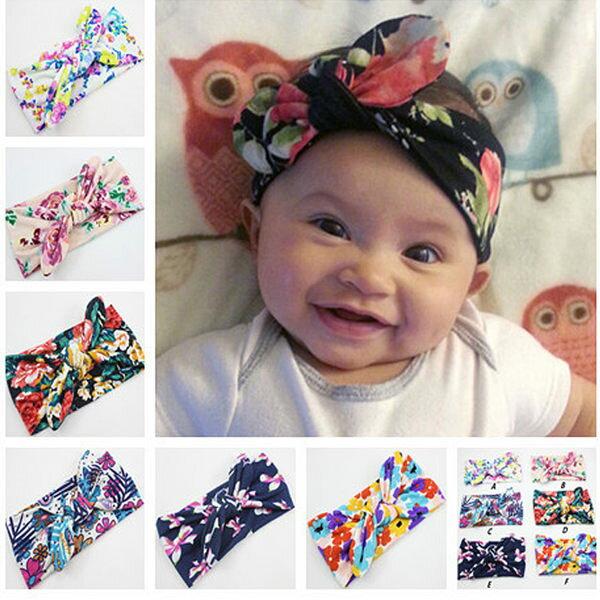 PS Mall 波西米亞時尚兒童寶寶裝飾髮帶 頭帶 【J572】 - 限時優惠好康折扣