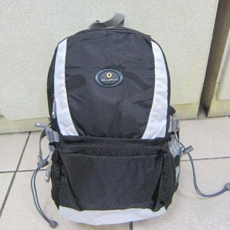 ~雪黛屋~POWERONE BAG 電腦後背包 可放小型尺吋筆電 防水尼龍布材質外出上學萬用包33-839 黑