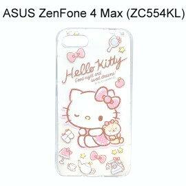 Hello Kitty空壓氣墊軟殼 [眨眼] ASUS ZenFone 4 Max (ZC554KL) 5.5吋【三麗鷗正版】