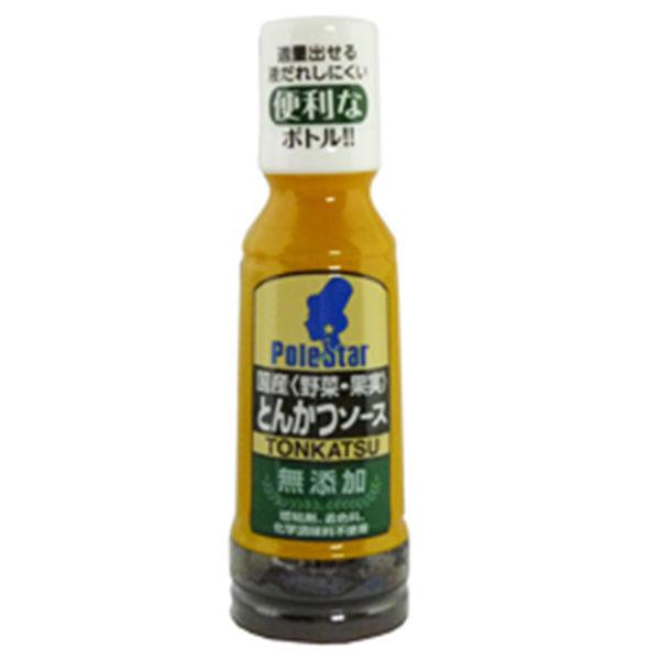 日本 POLE STAR 日本國產蔬菜 豬排醬 200g/罐 適用炸豬排/漢堡/炸物