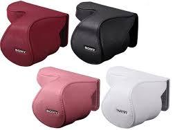 ★數量有限,售完為止★ SONY 皮質鏡頭套 LCS-EML2A 公司貨 SEL1855適用 皮質鏡頭套(現貨白色、紅色)