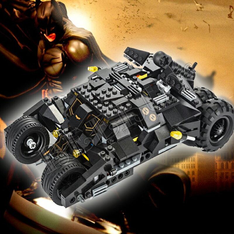 得高積木7105 超級英雄黑暗騎士→蝙蝠俠戰車 兼容樂高