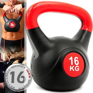 16公斤壺鈴KettleBell重力(35.2磅)16KG壺鈴.拉環啞鈴搖擺鈴.舉重量訓練.運動健身器材.推薦哪裡買C109-2116