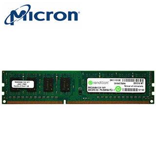 美光 Micron DDR3 1600 8G獨家雙電壓記憶體