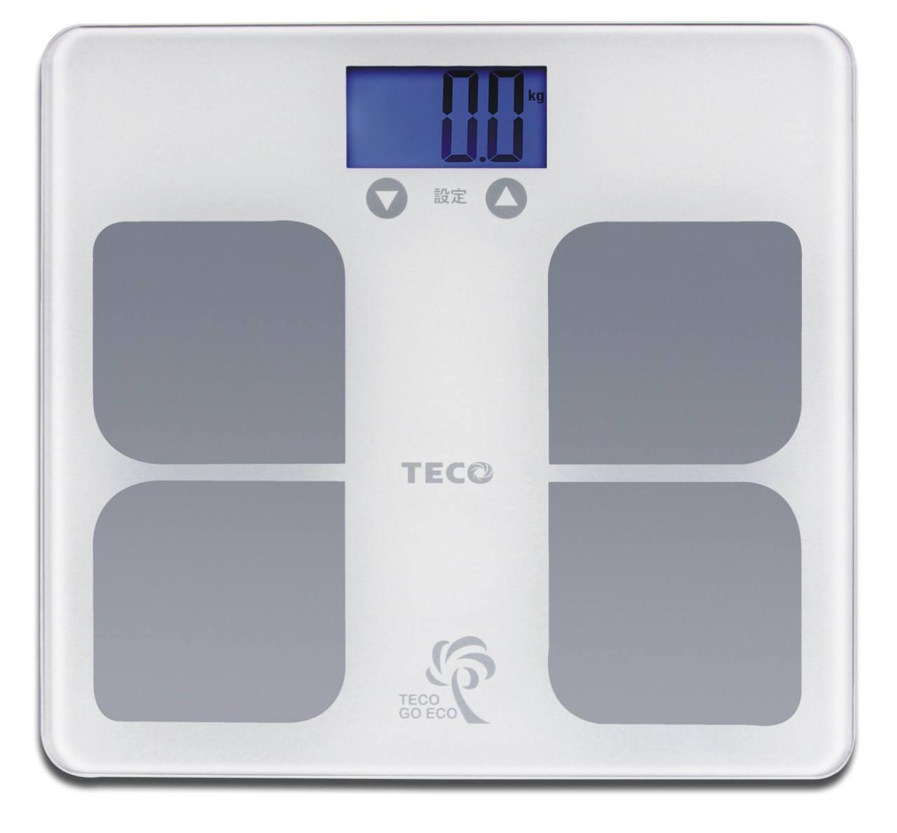 【SunEasy生活館】TECO東元BMI藍光體重計(XYFWT521)/強化玻璃/電子秤/人體秤/