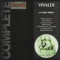 韋瓦第:歌劇《忠誠的仙女》AntonioVivaldi:LaFidaNinfa(2CD)【Dynamic】