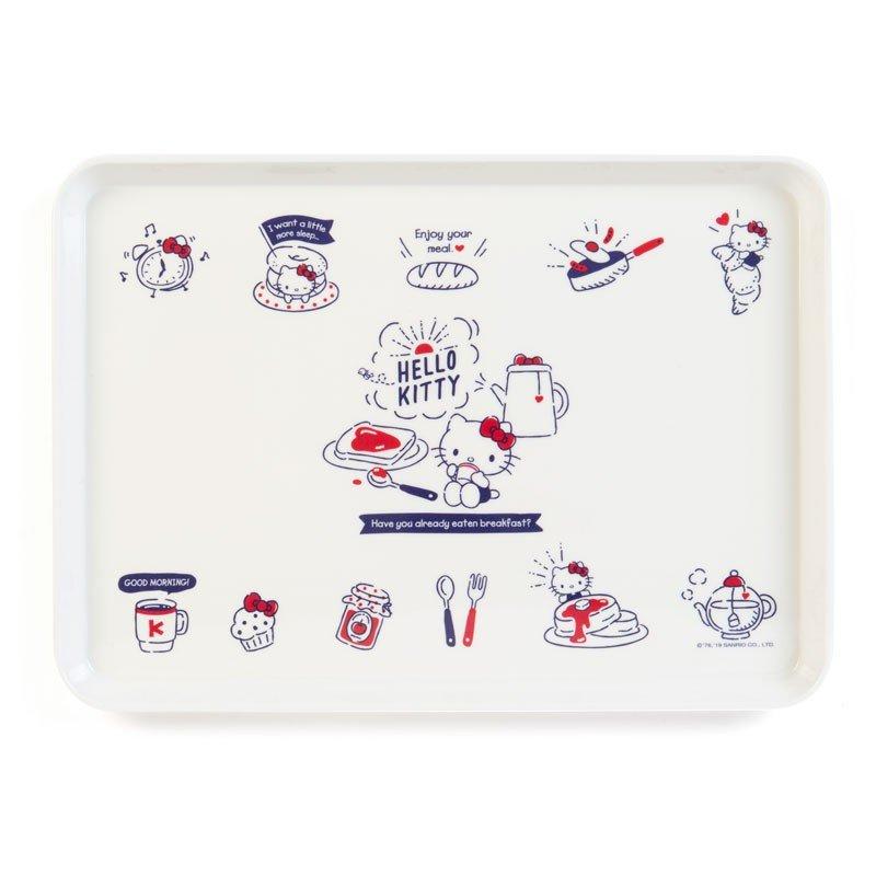 X射線【C807897】Hello Kitty 托盤-早餐,小物收納架 / 飾品盤 / 點心盤 / 零錢盤 / 水果盤 / 茶盤 0