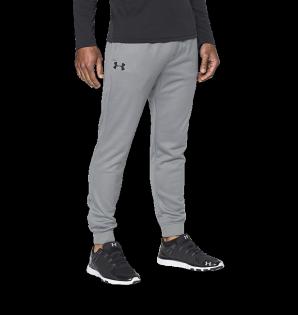 《UA出清5折》Shoestw【1280742-025】UNDERARMOURUA服飾長褲縮口褲保暖灰色男生