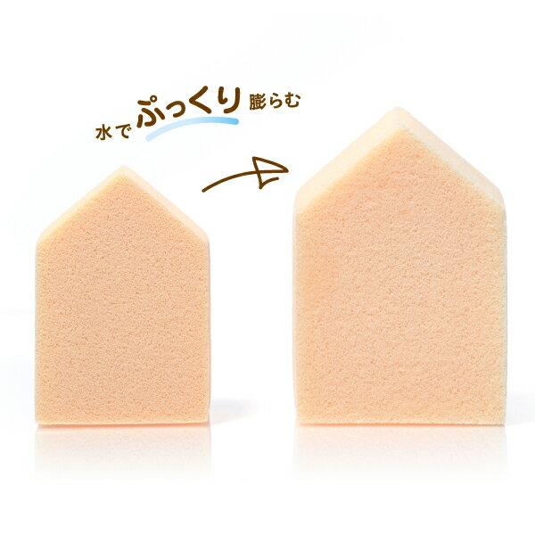 ROSY ROSA 果凍感低敏粉撲五角形N 6入 1