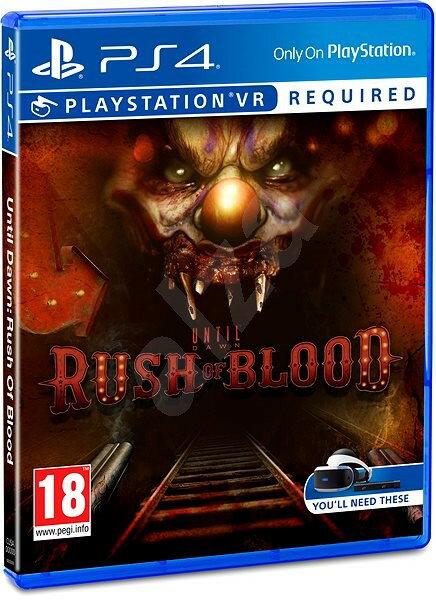 現貨供應中 中文版 PSVR專用軟體 [限制級] PS4 直到黎明:血腥突襲