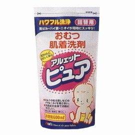 【寶貝俏媽咪】日本丹平 植物性洗衣精(補充包)600ML