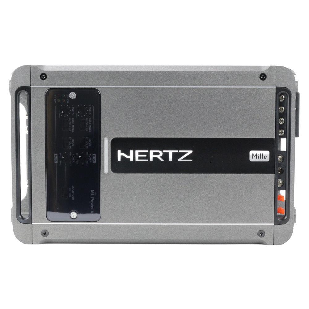 Hertz ML Power 4 1000W Mille Series 4-Channel Class-D Car Audio Amplifier