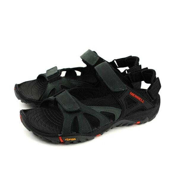 MERRELLALLOUTBLAZESIEVECONVERT涼鞋黑色男鞋ML12651no919
