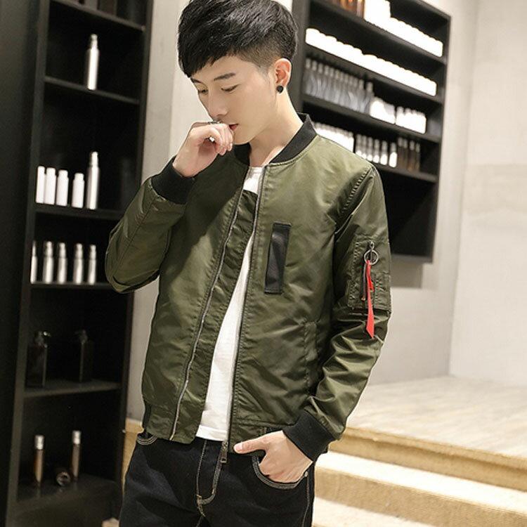 Mao  最新款質感經典流行MA-1飛行外套造型百搭夾克外套