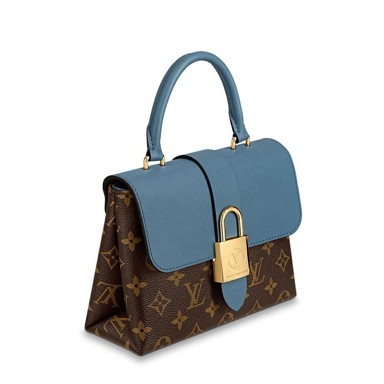 【Chiu189英歐代購】Louis Vuitton LOCKY BB 大鎖頭 郵差包 翻蓋包 M44321
