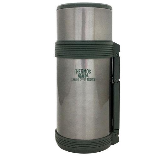 THERMOS 膳魔師 不銹鋼真空保溫瓶-銀灰色 (HJC-750-CGY) 0.75L