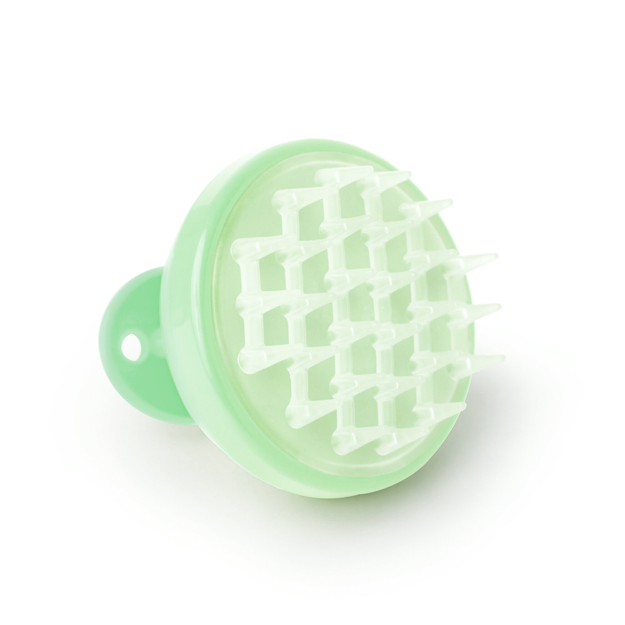 Vanity Planet Groove Vibrating Scalp Massager - Minty Green 0