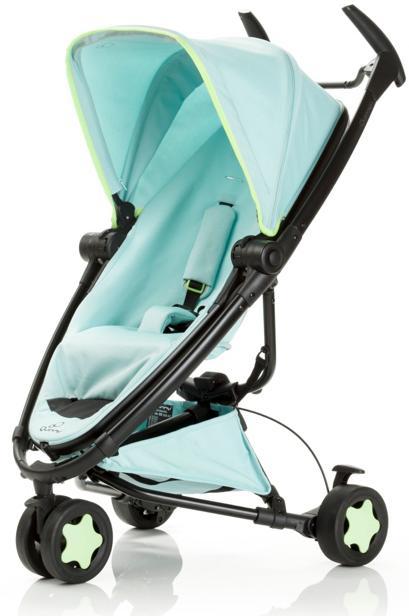 【贈提籃+專用杯架+搖搖椅】荷蘭【Quinny】Zapp Xtra2 Miami嬰兒推車(黑管藍) 1
