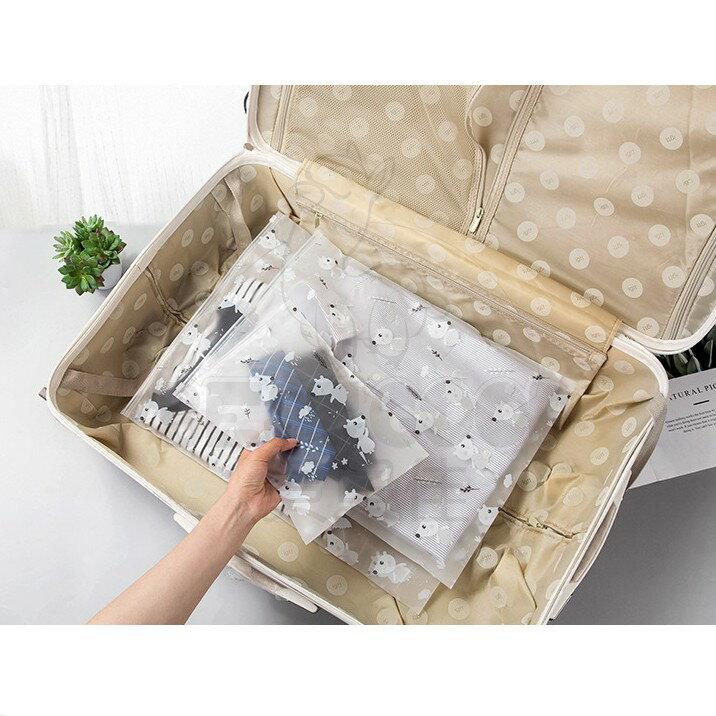 韓式旅行多用途收納袋5種尺寸 整理袋