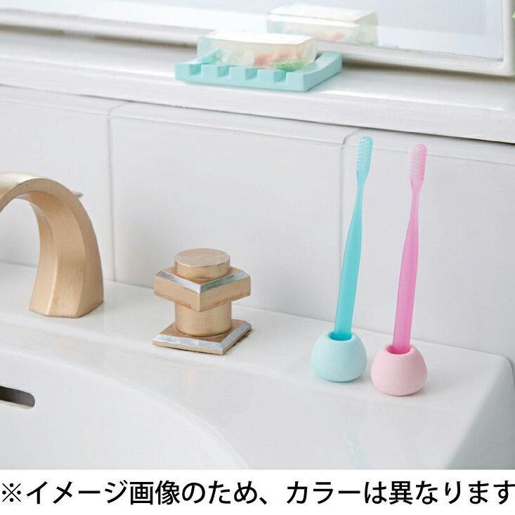 日本進口HIRO珪藻土牙刷架乾燥防潮吸水 4色