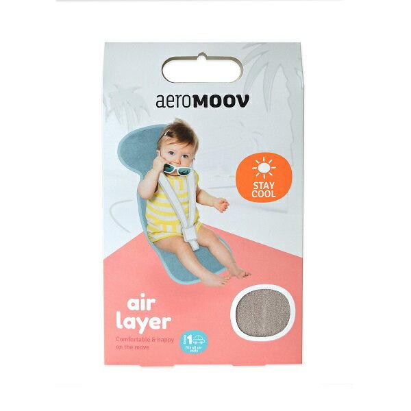AeroMOOV 3D科技嬰幼兒汽座透氣墊(火鶴紅)32x86cm【推車 / 汽車座椅專用涼墊】★衛立兒生活館★ 1