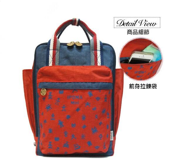 ★CORRE【JJ023】簡約時尚印刷小巧後背包★ 1