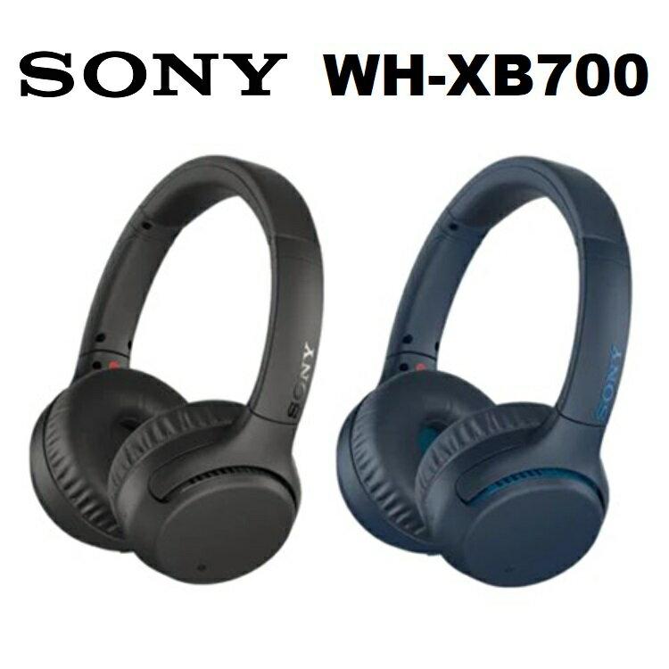 【免運費】SONY WH-XB700 藍牙重低音耳罩式耳機 (公司貨)