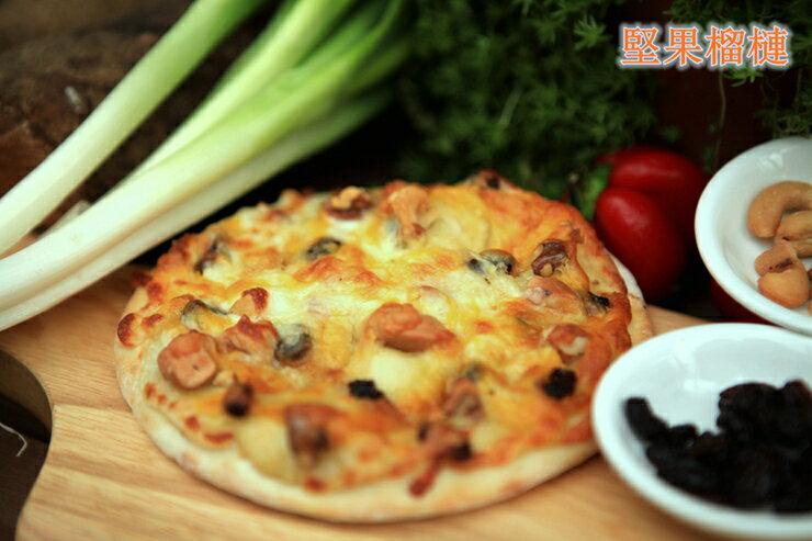 6吋堅果榴槤pizza(冷凍披薩)