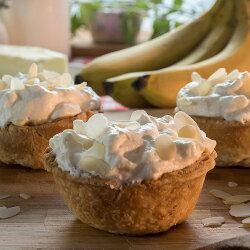 【The Pie Guy 派派哥】老奶奶的香蕉鮮奶油派 Banana cream pie(一組3入)