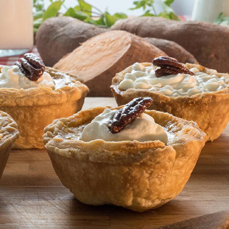 【The Pie Guy 派派哥】南方經典 – 波本胡桃派 Bourbon pecan pie(一組3入)