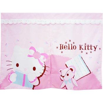 ~真愛 ~9050100001 短門簾~粉紅抱熊  三麗鷗 Hello Kitty 凱蒂貓
