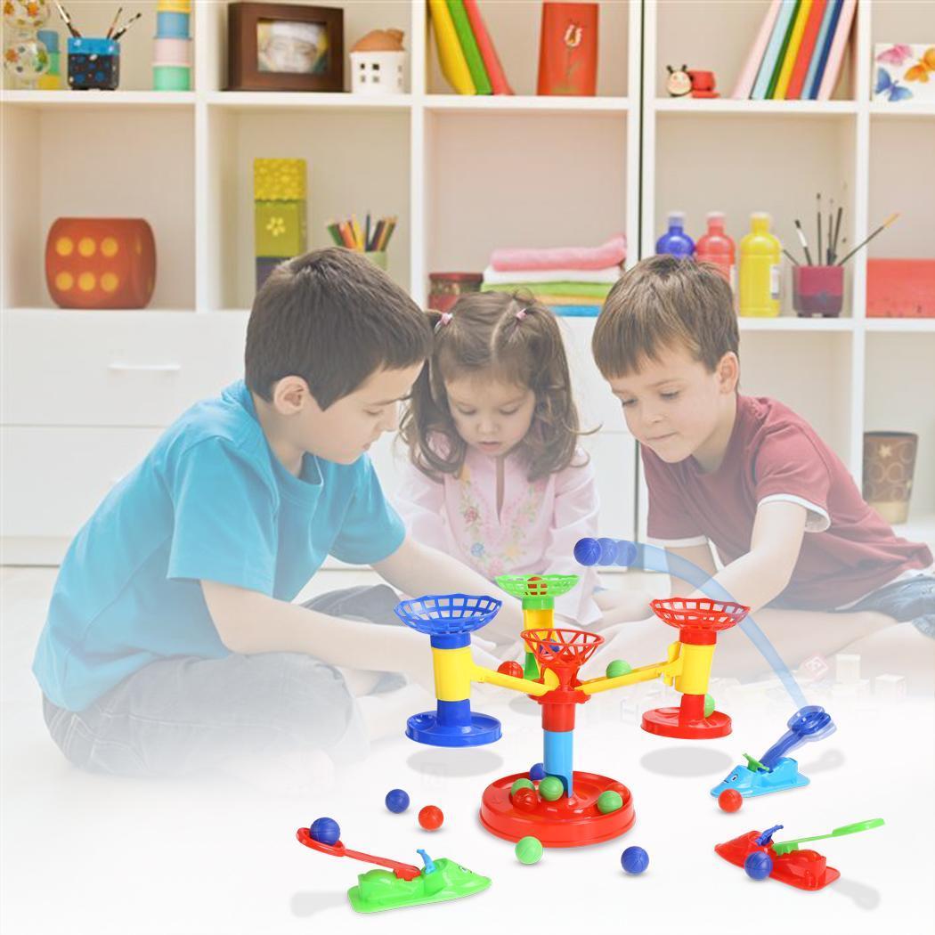 Kids Unisex DIY Educational Developmental Ball Plastic Toys Game 5
