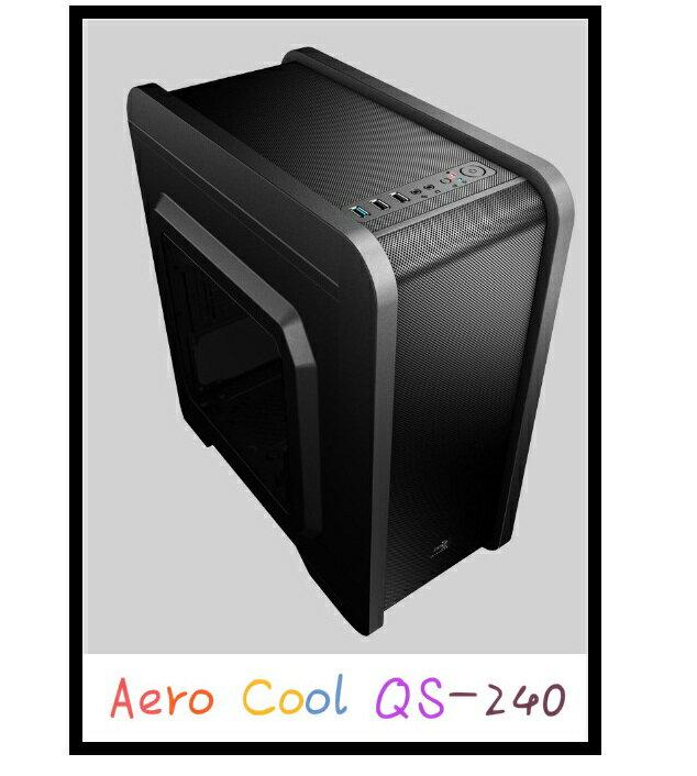 機殼 Aero cool QS-240 電腦機殼 桌上型電腦 / 機殼 / 風扇 0