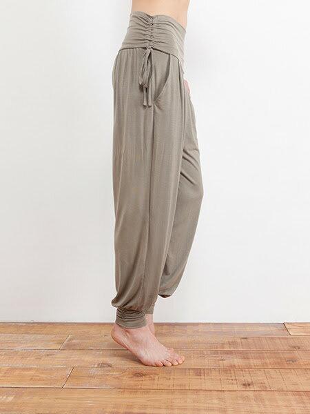 【Bali】草木染長波紋燈籠褲 1