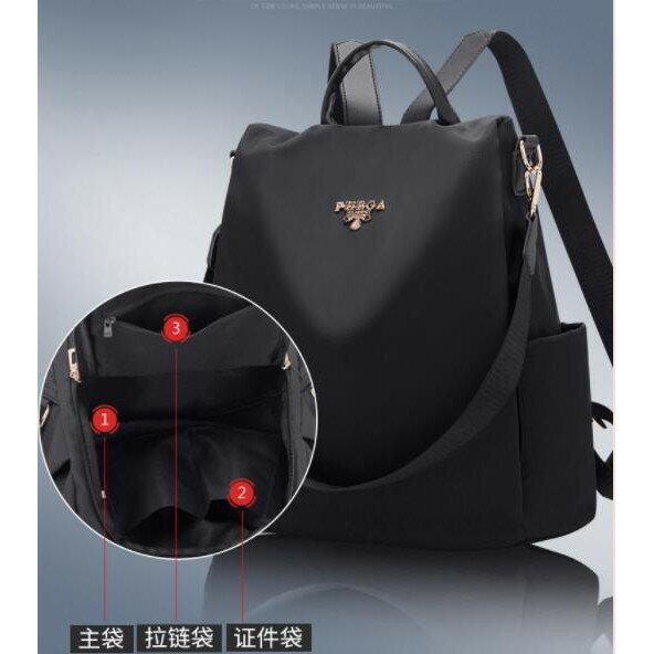 【快速出貨】後背包包女士2021新款韓版百搭背包軟皮休閒時尚旅行大容量韓版女包