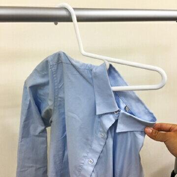 抗UV質感衣架.小領口 1