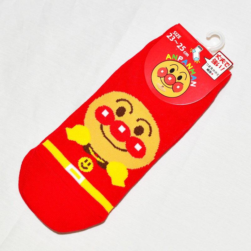 麵包超人 成人襪子 運動襪 23-25cm 日本帶回正版品