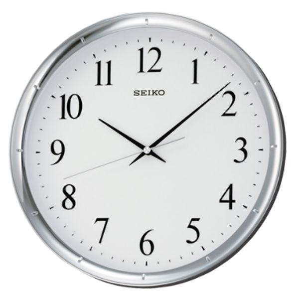 Seiko 精工鐘 (QXA417S) 極簡風格滑動式秒針黑白標準鐘/31.1*4.4cm