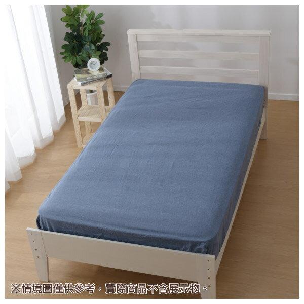 和風水洗純棉床包 BL 雙人 NITORI宜得利家居 1