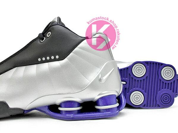 2019 完整復刻 半神人 Vince Carter 代言 NIKE SHOX BB4 OG 黑銀藍 卡特 彈簧鞋 籃球鞋 (AT7843-001) ! 3