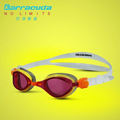 美國巴洛酷達Barracuda兒童競技型抗UV防霧泳鏡-FENIX JR#73855 2