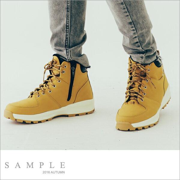 韓國製 登山靴 球鞋型厚底~BT17227~~ SAMPLE